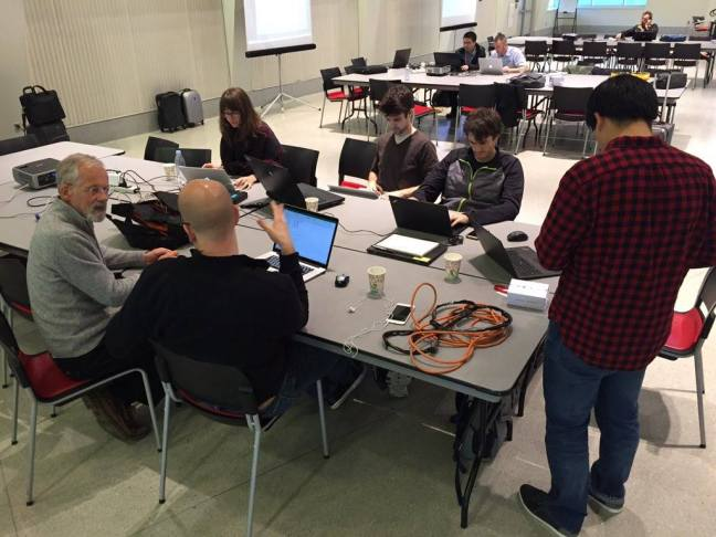 The ACADIA 2015 Hackathon